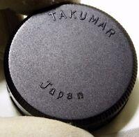Pentax Takumar M42 screw in Rear Lens Cap Genuine OEM