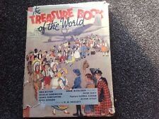THE TREASURE BOOK OF THE WORLD Vintage 1950 1st Ed. Hardcover with dust jacket