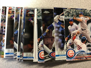 Javier Baez 25 card lot Chicago Cubs #2