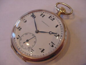 AWESOME VERY RARE 1920s SHREVE & Co LONGINES 14k GOLD FILLED POCKET WATCH!