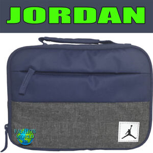 NIKE AIR JORDAN PIVOT INSULATED LUNCH BOX TOTE 9A0085 MIDNIGHT NAVY