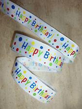 1M Feliz Cumpleaños Pastel, Arcos de la cinta con Cable, presente, envoltura de regalo, papel de embalaje