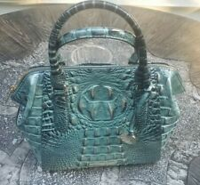NWT Brahmin Mini Camila in Obsidian Melbourne Embossed Leather