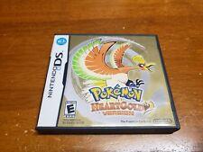 Pokemon HeartGold (Nintendo DS) Original Case & Artwork Only Authentic