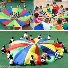 Kinder Garten Spielzeug Bunt Schirm Schwungtuch Fallschirm Schwungtücher 2m