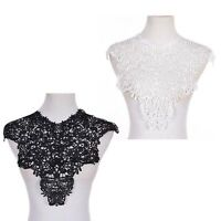 Arrival Lace Embroidered Venise Neckline Neck Collar Sewing Applique patches!u