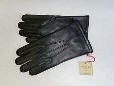 Genuine Dents warm lined leather gloves - Keston-Black