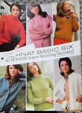 VINTAGE BERNAT BASIC SIX BOOKLET NO. 137