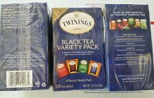 TWININGS TEA-Black Tea, Pack of 3 ( 20 BAG )