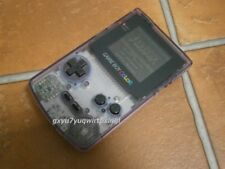 Nintendo Game Boy Color Console Clear Purple Cgb-001 Working w/ Solarstriker