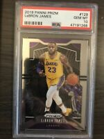 2019-20 Panini Prizm Lebron James PSA 10 Los Angeles Lakers QTY