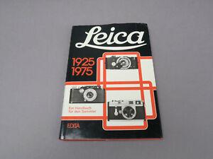 Leica 1925-1975 Ein Handbuch für den Sammler EDITA by G. Rogliatti