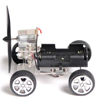 Mini Wind Car 130 Brush Robot for Arduino Children Educational DIY Car Kits`_H
