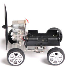 Mini Wind Car 130 Brush Robot for Arduino Children Educational DIY Car Kit IJUS