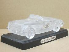 Chevrolet Corvette Cabrio 1959, Hofbauer, Bleikristall, falsche OVP, ca. 1:24