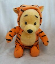 """Disney Winnie The Pooh 11"""" Pooh In Tigger Outfit Soft Teddy / Plush Toy"""