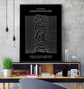 Joy Division - 'Unknown Pleasures' Album Premium Poster Print Professional Grade