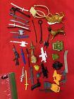 Vintage Gi Joe Lot Of Accessories/Weapons......#3
