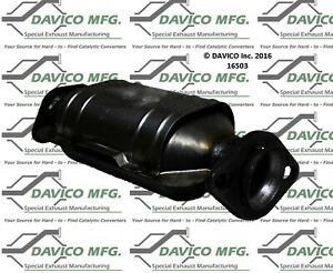 Catalytic Converter-Exact-Fit Davico Exc CA 16503 fits 94-97 Ford Aspire 1.3L-L4