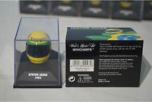 Minichamps Helmet Ayrton Senna 1982 540 380314
