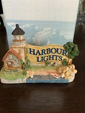 Harbour Lights Legacy Lighthouse #601 1994 Coa Blue Letters on Sign