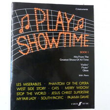 oboe PLAY SHOWTIME Book 1 , for C instruments violin/ flute