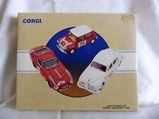 """CORGI TOYS, """"TOUR DE FRANCE"""", AUSTIN HEALEY,  FORD CORTINA, MINI, LTD ED SET"""