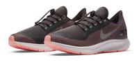 Nike Women's Air Zoom Pegasus 35 Shield Running Shoes Oil Gray AA1644-001 NEW