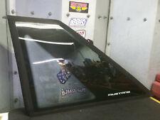 87-93 Ford Mustang Quarter Window Glass DRIVER LH SIDE HATCHBACK OEM Carlite GT