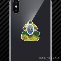 (2x) Honduran Coat of Arms Cell Phone Sticker Mobile Honduras flag HND HN
