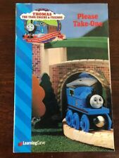 1998 Learning Curve Wooden Thomas Train Catalog!