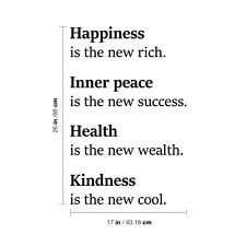 Happiness Inner Peace Health Kindness