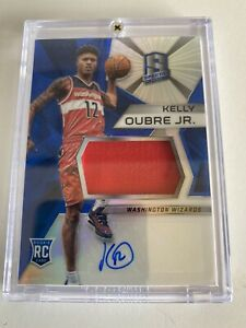 2015/16 Panini Spectra Kelly Oubre Jr RPA -#118 Prizm Rookie Auto - Near Mint 🏀