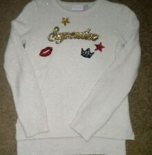 The Childrens Place Girls Superstar Sweater Size 10/12 EUC