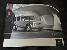 2005 Mercedes Benz G Class Sales Dealer Brochure G500 G55 AMG G 55 500 G-Class