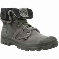 Palladium Pallabrouse Baggy Metal Womens Canvas Fold Down Casual Ankle Boots