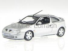 Renault Megane cupe plata 2001 coche en miniatura 517671 Norev 1/43