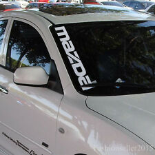 Mazda Logo Vinyl Decal for Side Windshield Sticker