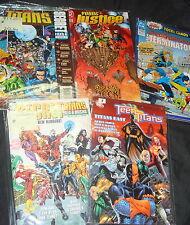 LOTE DE COMICS THE NEW TEEN TITANS especiales 5 numeros