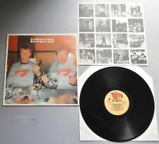 The Undertones - Hypnotised 1980 Portuguese Sire LP with 4pp Insert