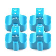 4 Cyan Ink Cartridges for HP Photosmart D7263 D7345 D7355 D7360 D763 D7368 P3210