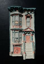 Brian Baker -Deja Vu - Italianate Victorian #1552 Architectural Wall Plaque