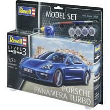 Automodello in kit da costruire revell 67034 porsche panamera turbo 1:24