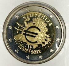 Slovénie - 2 Euro 2012 - 10 Ans de circulation // Qualité : BE