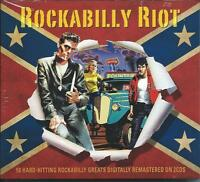 Rockabilly Riot - 50 Hard Hitting Rockabilly Greats (2CD 2015) NEW/SEALED