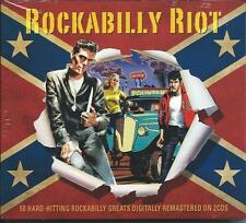 Rockabilly Riot - 50 Hard Hitting Rockabilly Greats (2CD 2015) NEW/SEALED