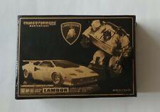 Transformers Masterpiece MP 12J LAMBOR Gold Color Sideswipe *missing screwdriver