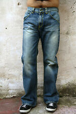"DONDUP da uomo ""FROG"" Jeans Blu Denim Standart scolorito Loose Fit W29 ITALIA Loose Fit"