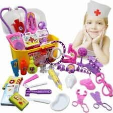 Creative Doctor Medical Play Set  Carry Case Medicine Box Children Education