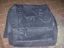 Jeep Grand Cherokee WJ dark slate leather front seat back cover NOS